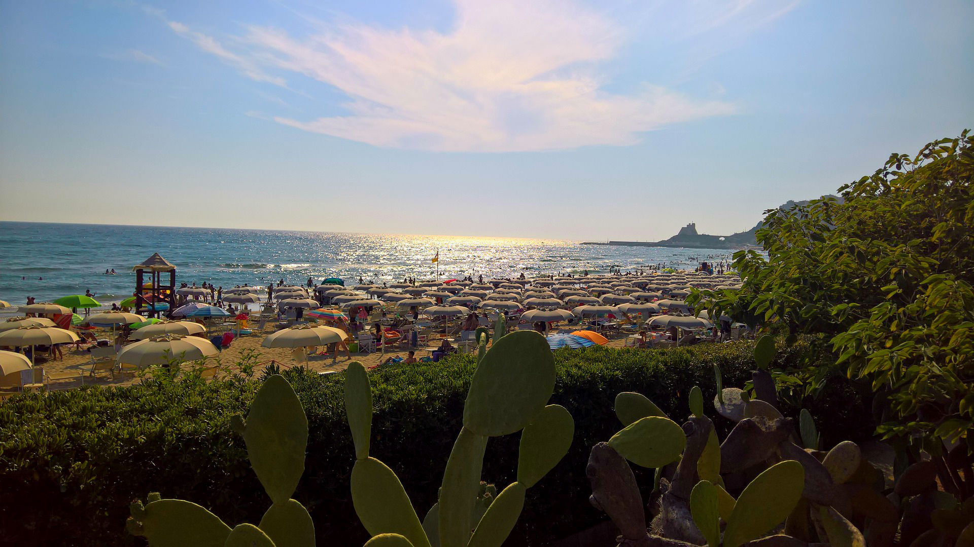 Best Lazio beaches: This guide to the best beaches near Rome includes how to get to the best Rome beaches with public transport, including how to get to Ostia and Fregene, how to get to Sperlonga, Anzio, Gaeta, Santa Severa and Santa Mariella. The best beaches in Lazio.