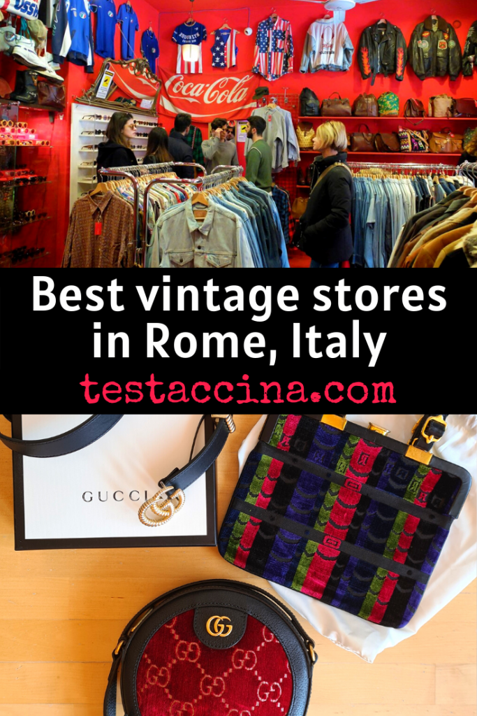 best vintage stores in Rome, Italy: where to buy vintage