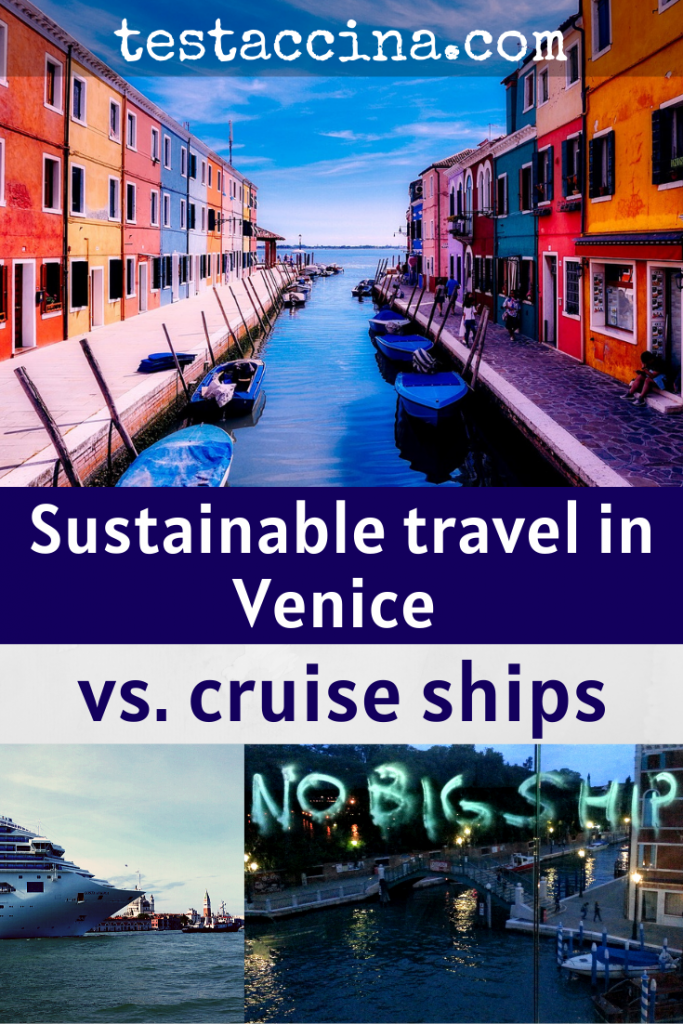 Sustainable travel in Venice vs. cruise ships