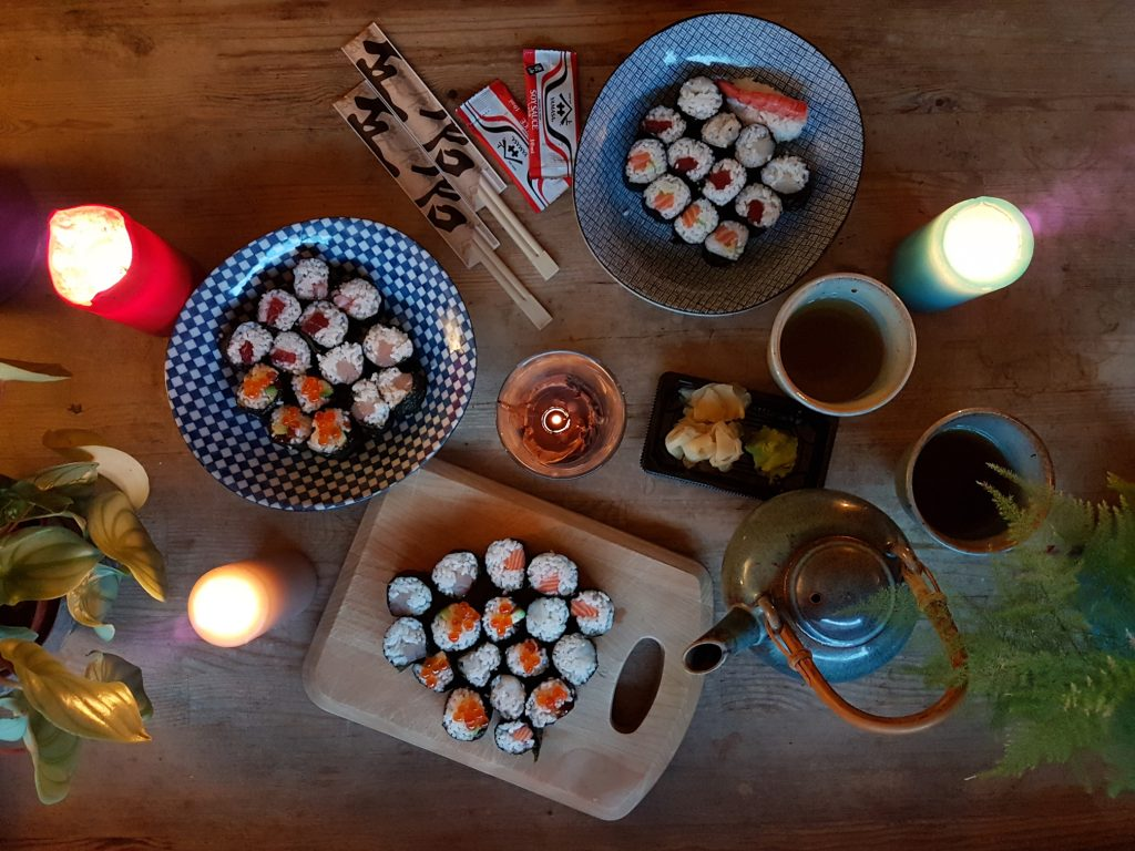Hasekura: Best sushi delivery Rome