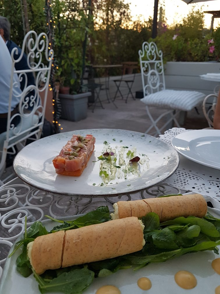 Pianoalto Roma: Testaccio rooftop fish restaurant