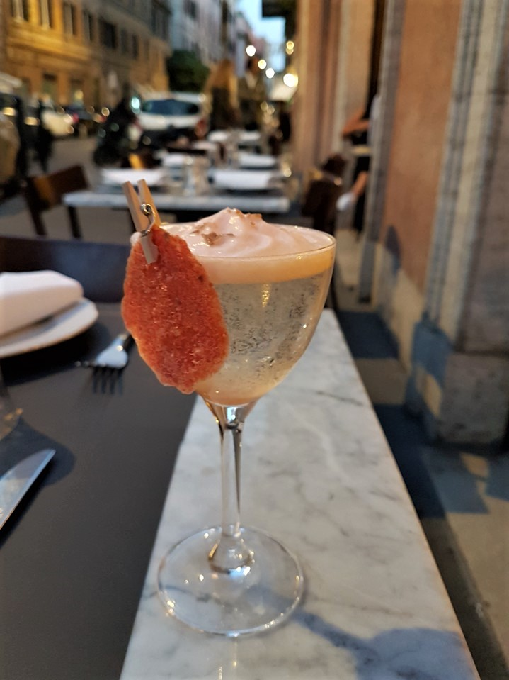 Il Marchese aperitivo outside Rome centre