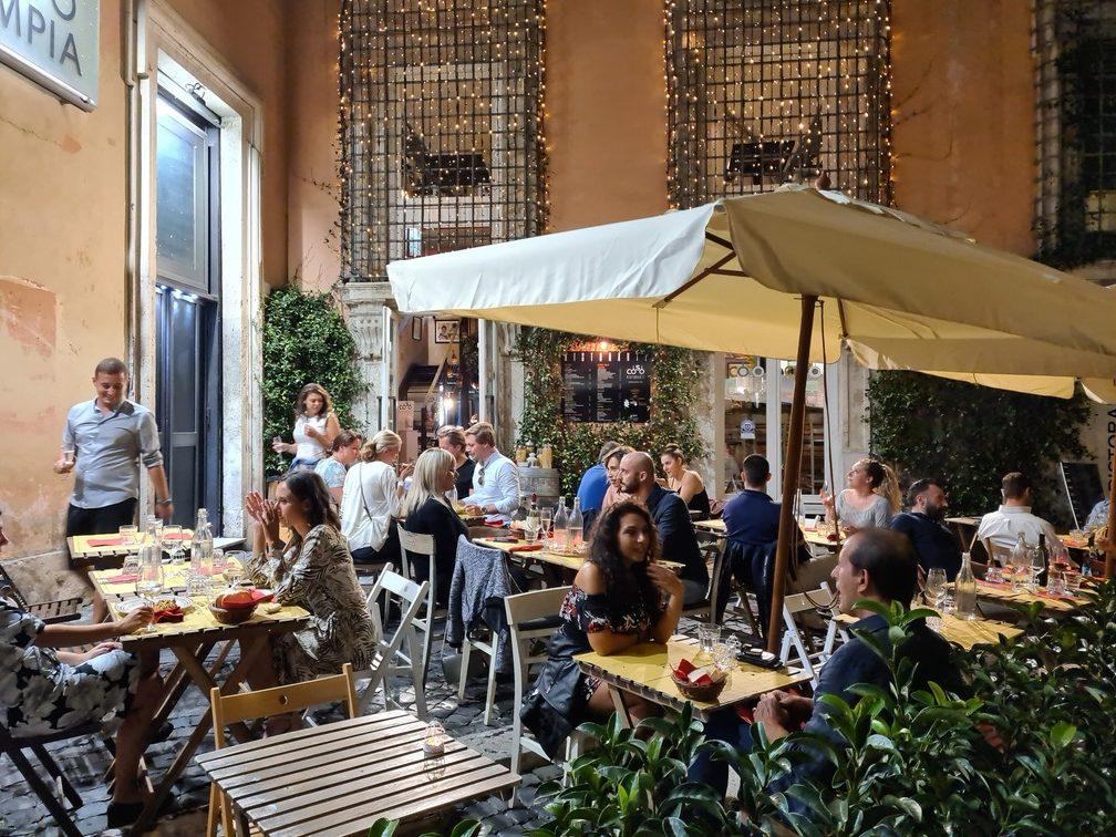 Via del Corso restaurant Rome - Coso Ristorante