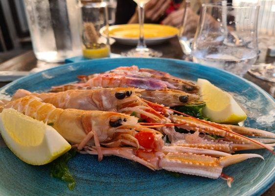 Salicornia cheap fish restaurant Rome