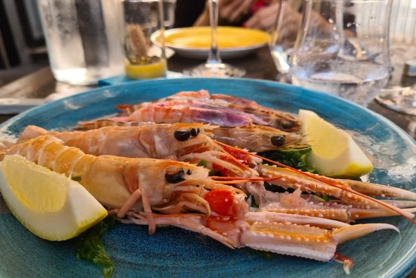 Salicornia: affordable fish restaurant in Pigneto, Rome
