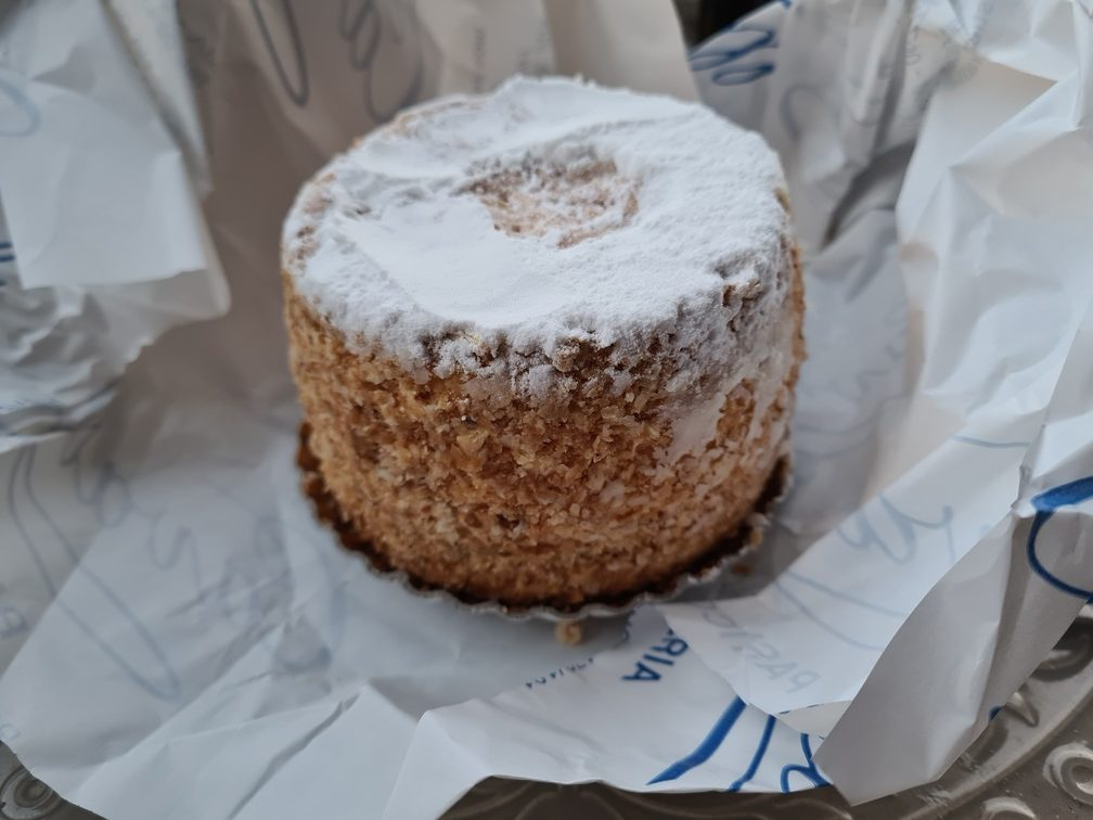 Best cake delivery in Rome: Cavalletti for the famous Millefoglie