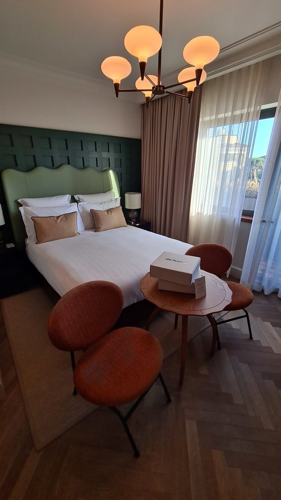 Cosy Up room at the Hoxton Hotel Rome