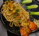 Lobster noodles at Song Chinese restaurant in Rome
