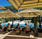 Uliveto poolside restaurant Rome