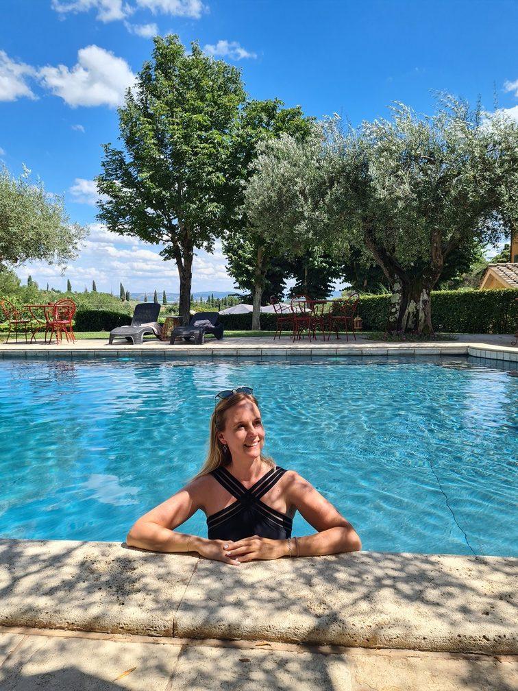 Capricci di Merion resort in Umbria with swimming pool - gourmet escapes in Umbria