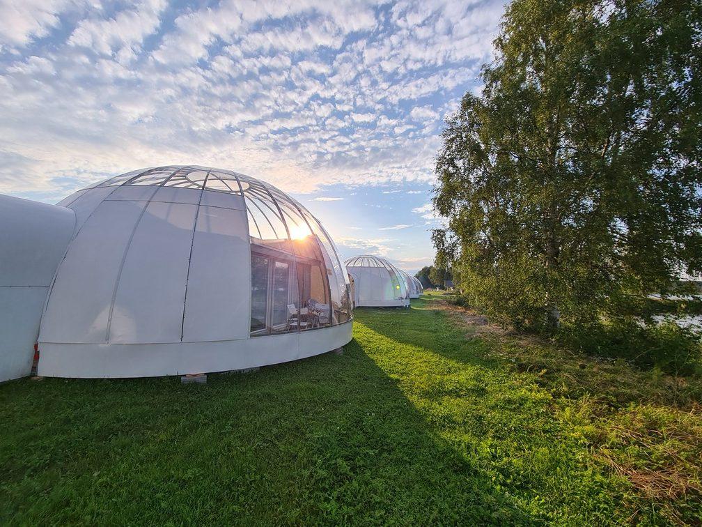 Ice & Light Village - Swedish Lapland adventure holiday