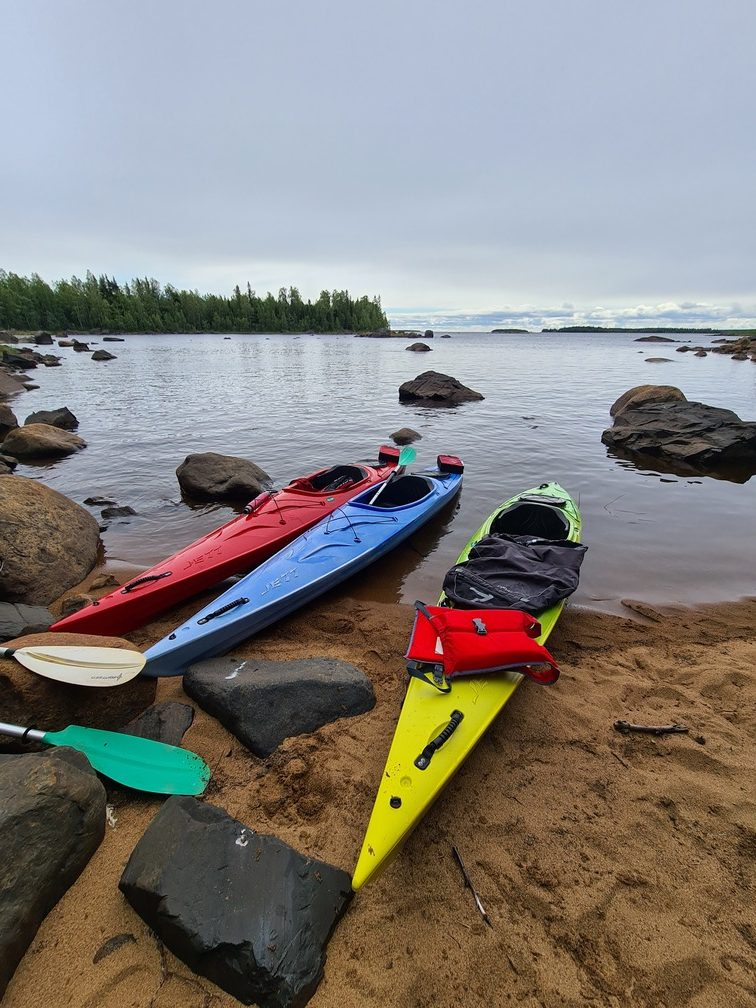 Kayaking in the Baltic Sea with Nordic Life Experience