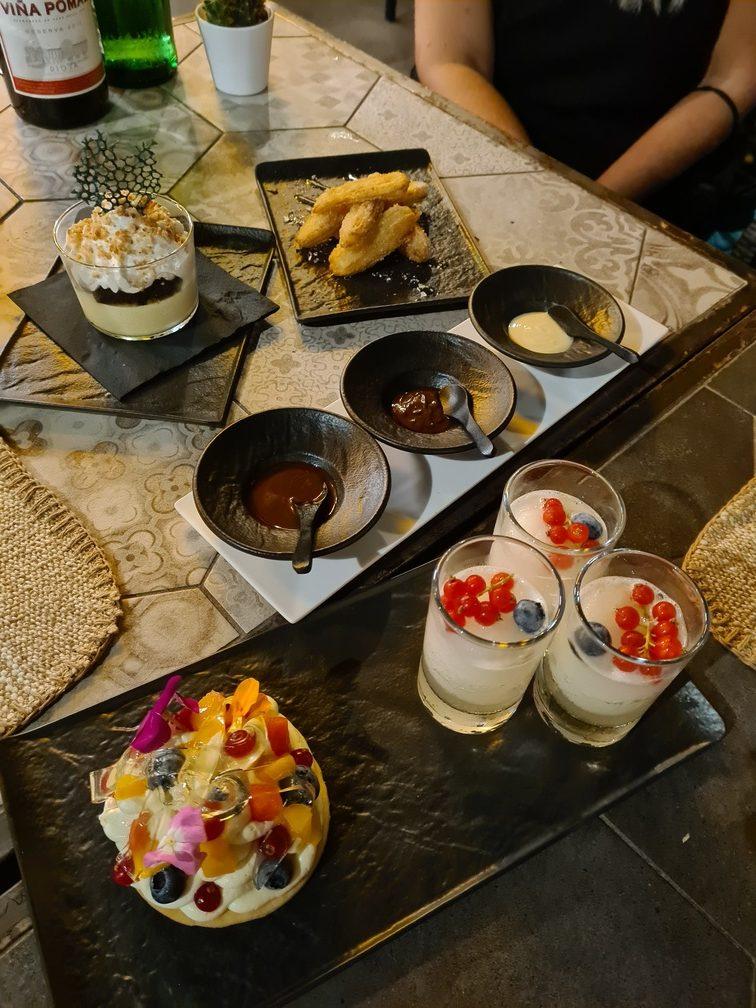 Casa Marcelo menu Rome - desserts and restaurant review