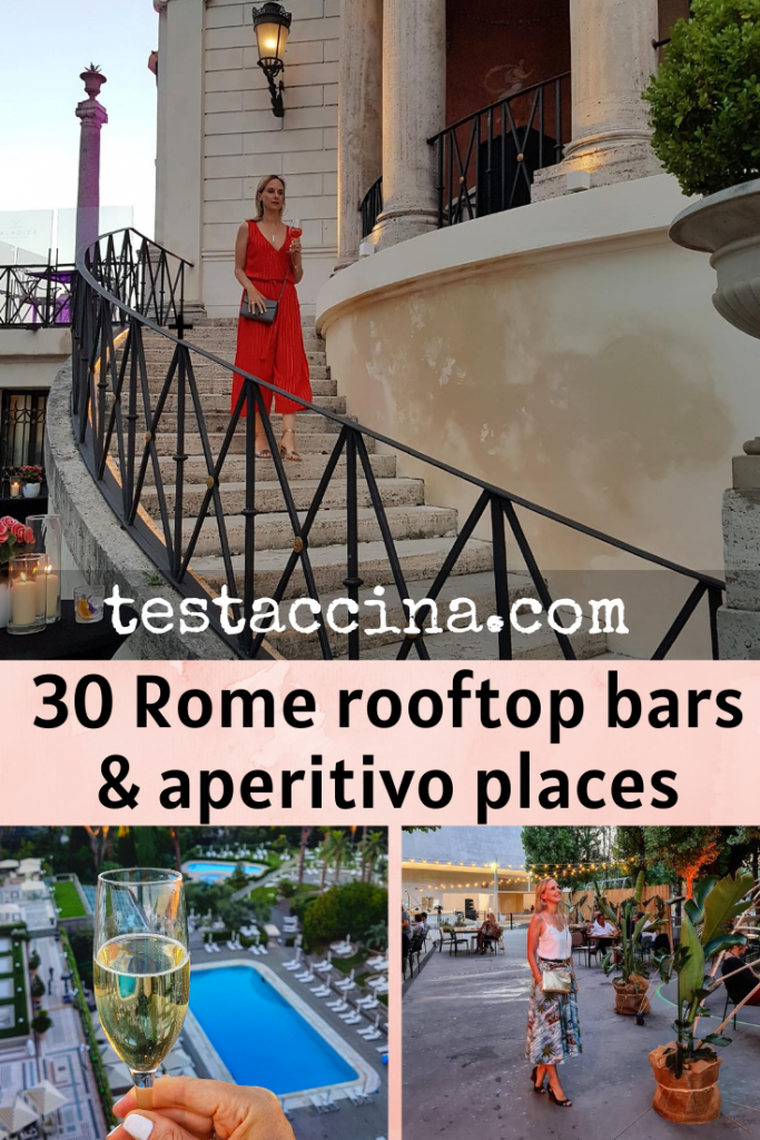 Rome rooftop bars and outdoor aperitivo places for summer 2020