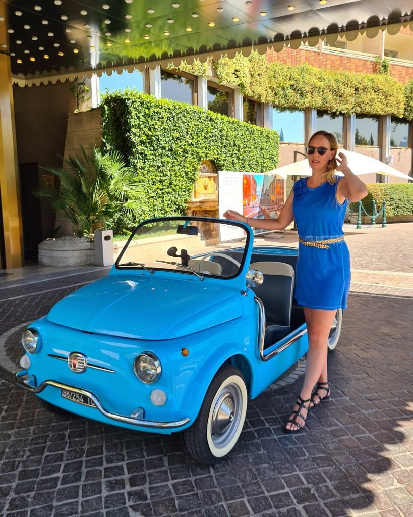 Hire a vintage Fiat 500 in Rome