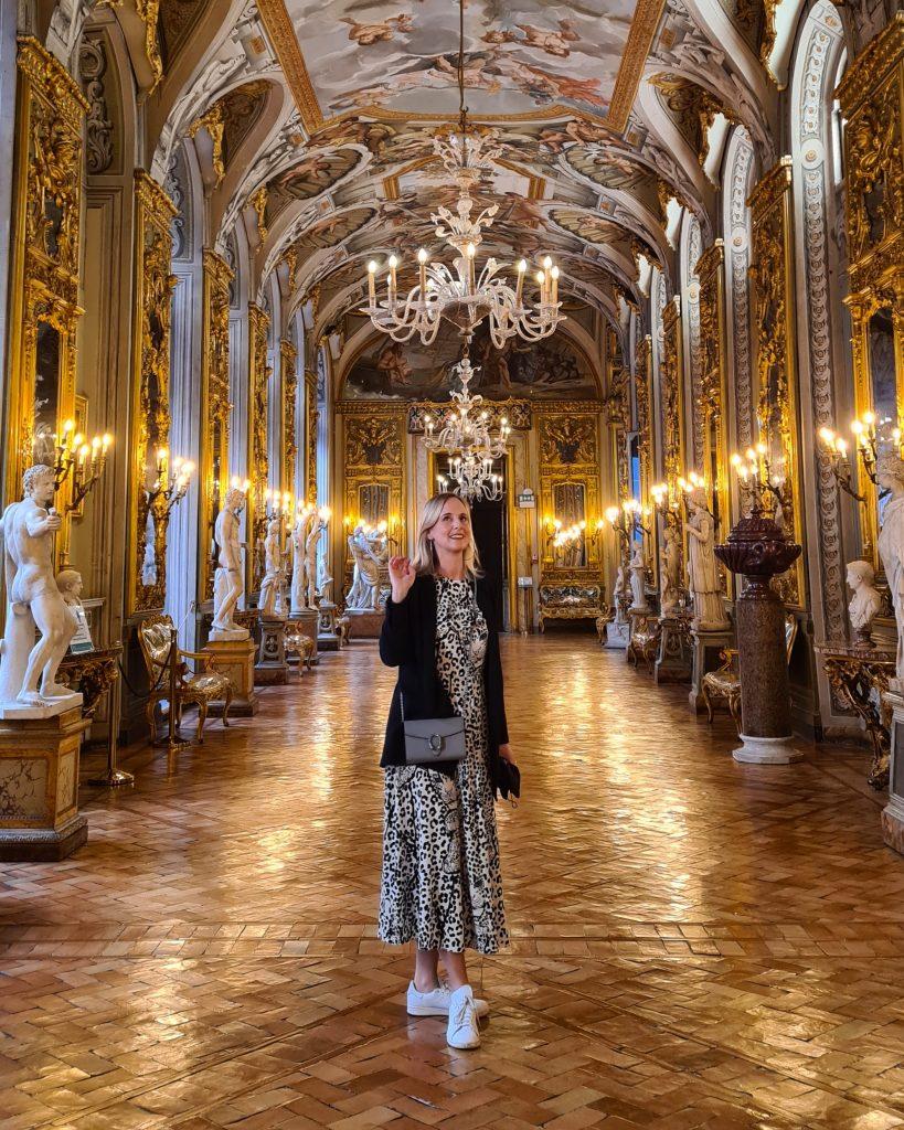 Galleria Doria Pamphilj hosts the art collection of Palazzo Doria Pamphilj