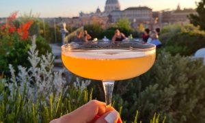 Les Etoiles - rooftop aperitivo Rome + restaurant near the Vatican