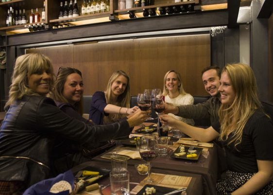 Rome wine tasting with Luxe Associates Travel