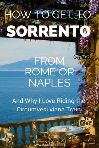 How to get to Sorrento from Rome, and how to get to Sorrento from Naples
