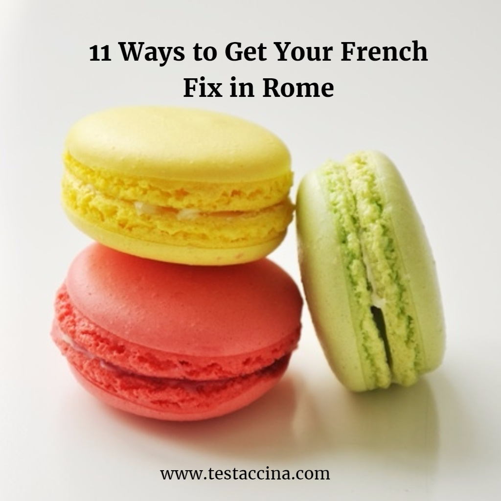Rome French culture