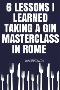 The gin craze has finally arrived in Rome and the Gin Corner is the only place to go! Read my experiences of a fantastic gin masterclass at one of the coolest cocktail bars in Rome.