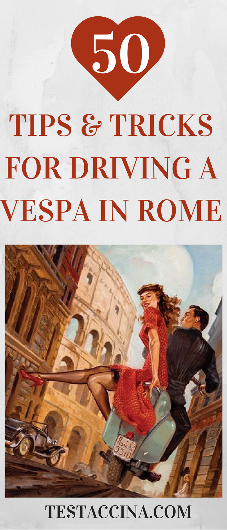 There's nothing more fun than driving a Vespa through the streets of Rome. Read on for some essential tips about staying safe and enjoying the best of Italy on two wheels.