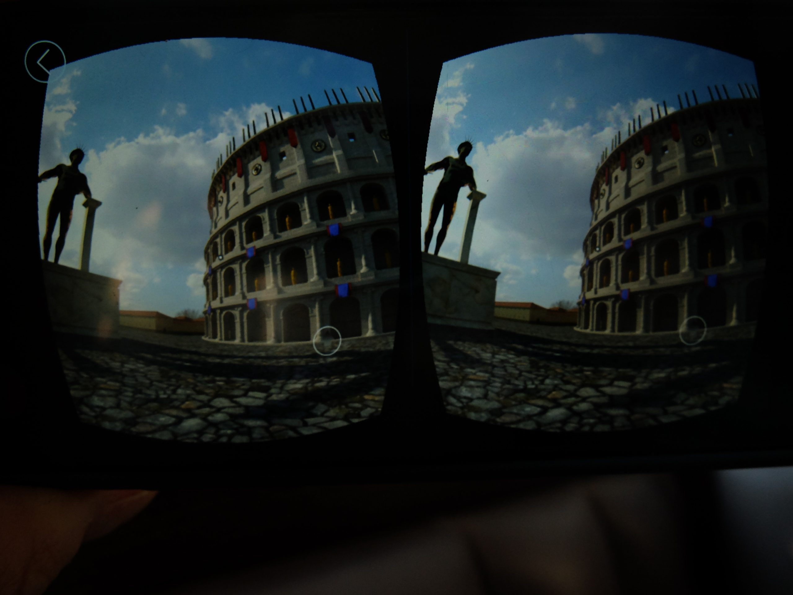 Tour company Livitaly have just introduced virtual reality goggles to their tour of the Colosseum, Palatine Hill and the Roman Forum, allowing travellers on their tours to scan now derilict monuments and see what they might have looked like in all their glory.