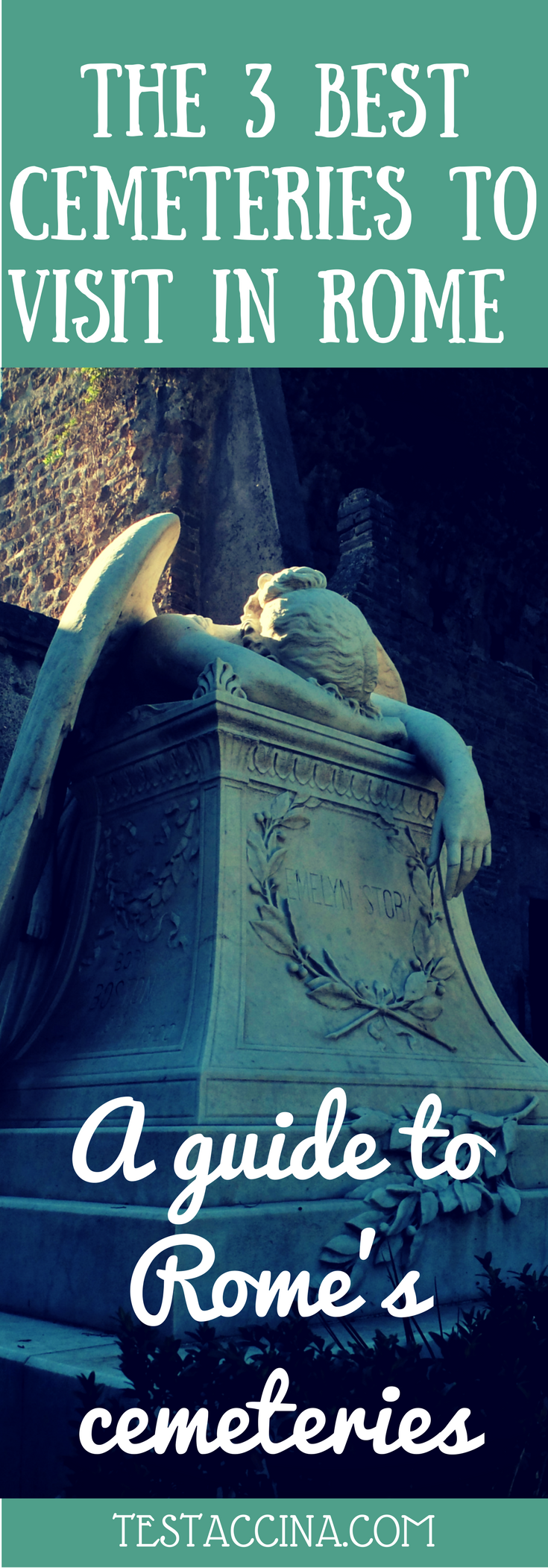 This guide to the most interesting of Rome's Cemeteries introduces Verano Cemetery, the Non-Catholic Cemetery and the Commonwealth Cemetery, Rome.