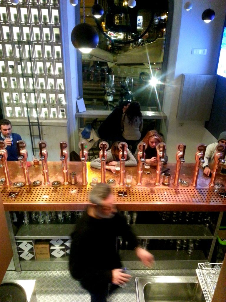 Rome's latest craft beer pub, Be.Re, combines artisan ales with Trapizzino street food, just a few minutes from the Vatican.