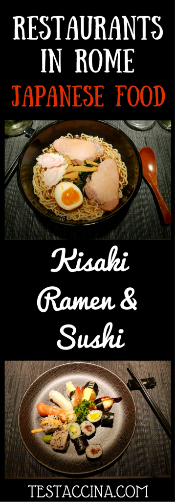 Kisaki Ramen & Sushi, a new Japanese restaurant in Rome, offers quality food from Japan including sushi, ramen, sashimi and tempura in the heart of Rome.