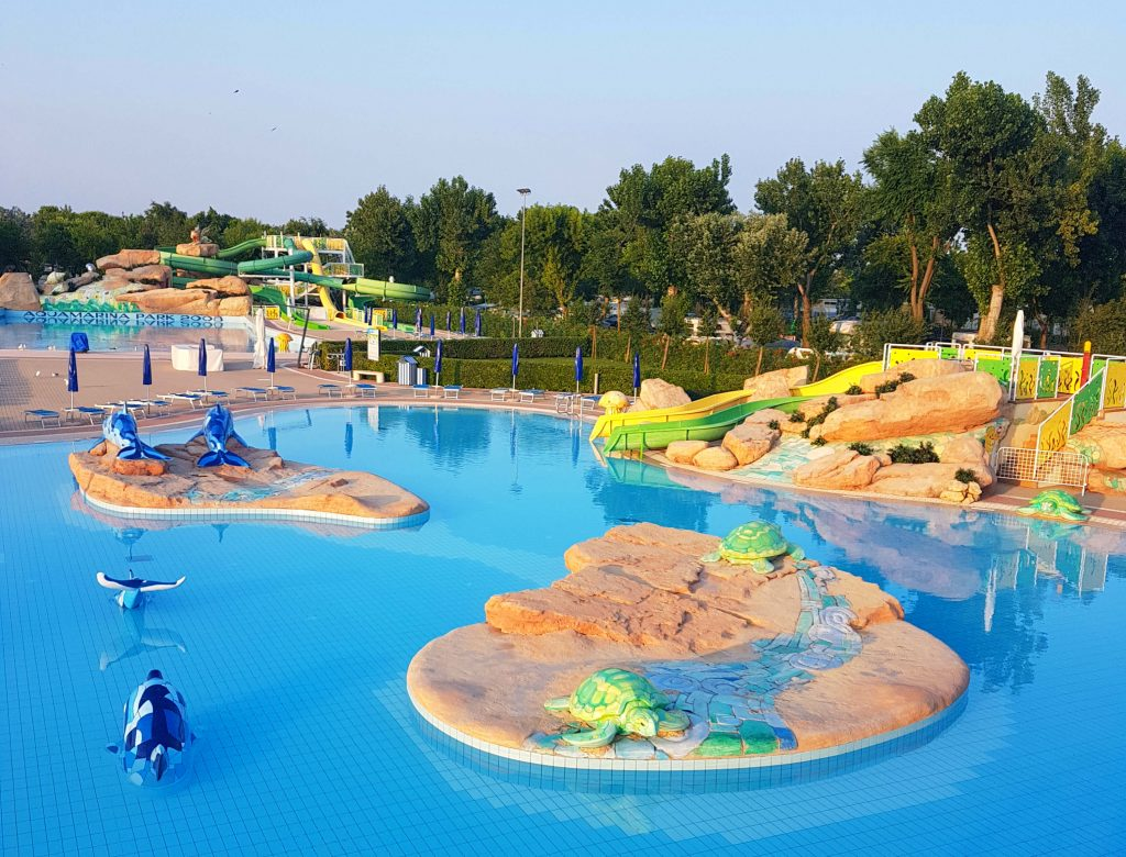 If you're looking for the best option for camping near Venice, Marina di Venezia camping village is a great family-friendly choice with a private beach.