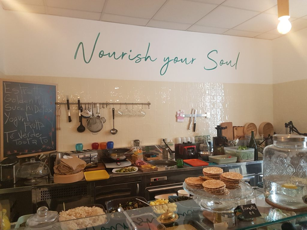 YogAyur yoga and meditation centre in Rome's Ostiense now offers a delicious new bistro and bento bar, plus a relaxing basement hammam