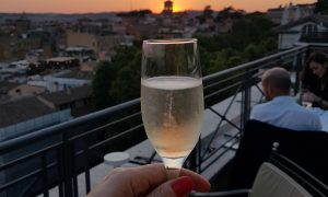 The Flair – Rooftop Restaurant at Hotel Sina Bernini Bristol combines Dolce Vita charm with a modern, minimal menu from chef Alessandro Caputo