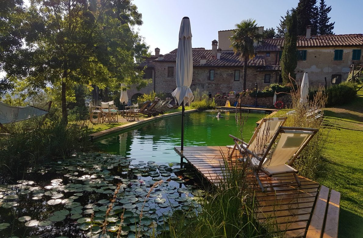 Luxury villas Tuscany: Il Paluffo, an ecotourism holiday for sustainable travel in Italy Private pool, Farm stay Italy, Chianti trip, Chianti wine tour, agriturismo Chianti