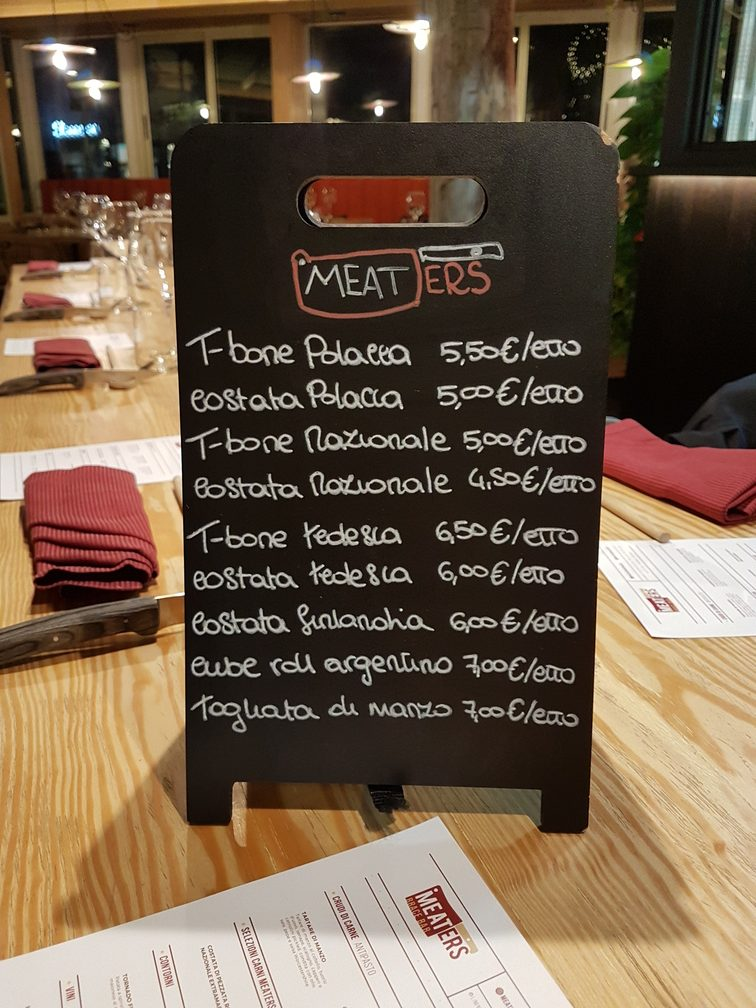 Meaters steakhouse Rome review - best steaks in Rome