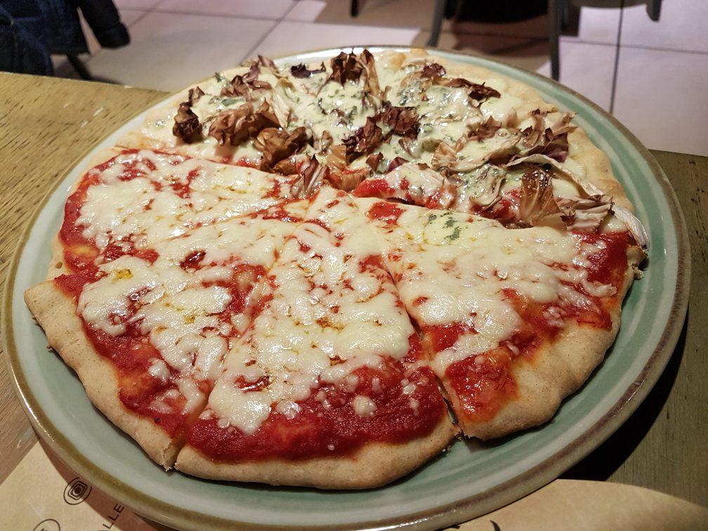 Straforno best pizza in Rome with gluten free pizza