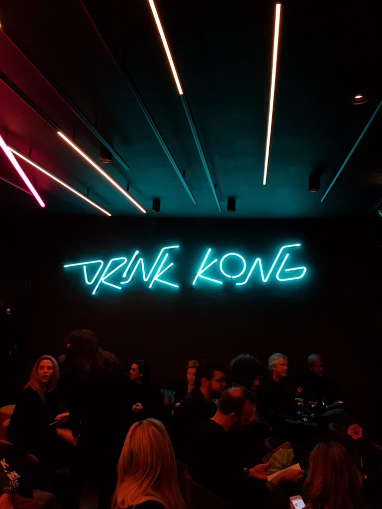 Drink Kong, cocktail bar Rome with fusion food