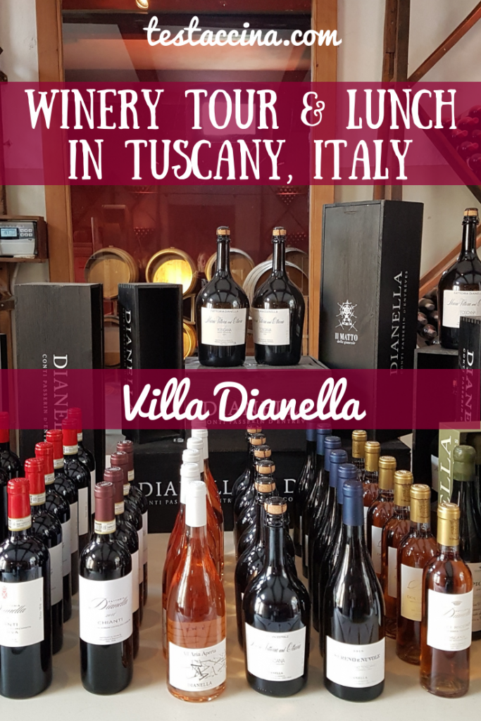 Tuscan winery tour: visit Villa Dianella from Florence for a Chianti wine tour