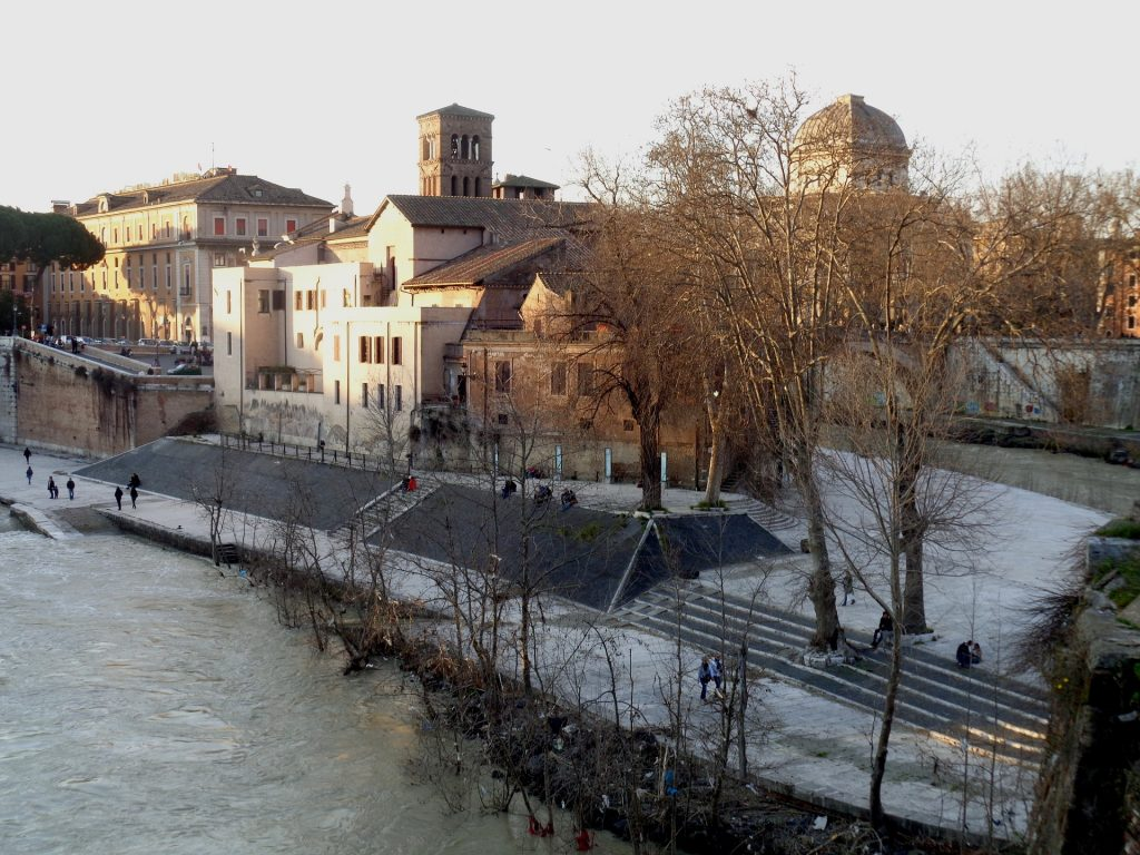Tiber Island Basilica of St. Bartholomew on the Island