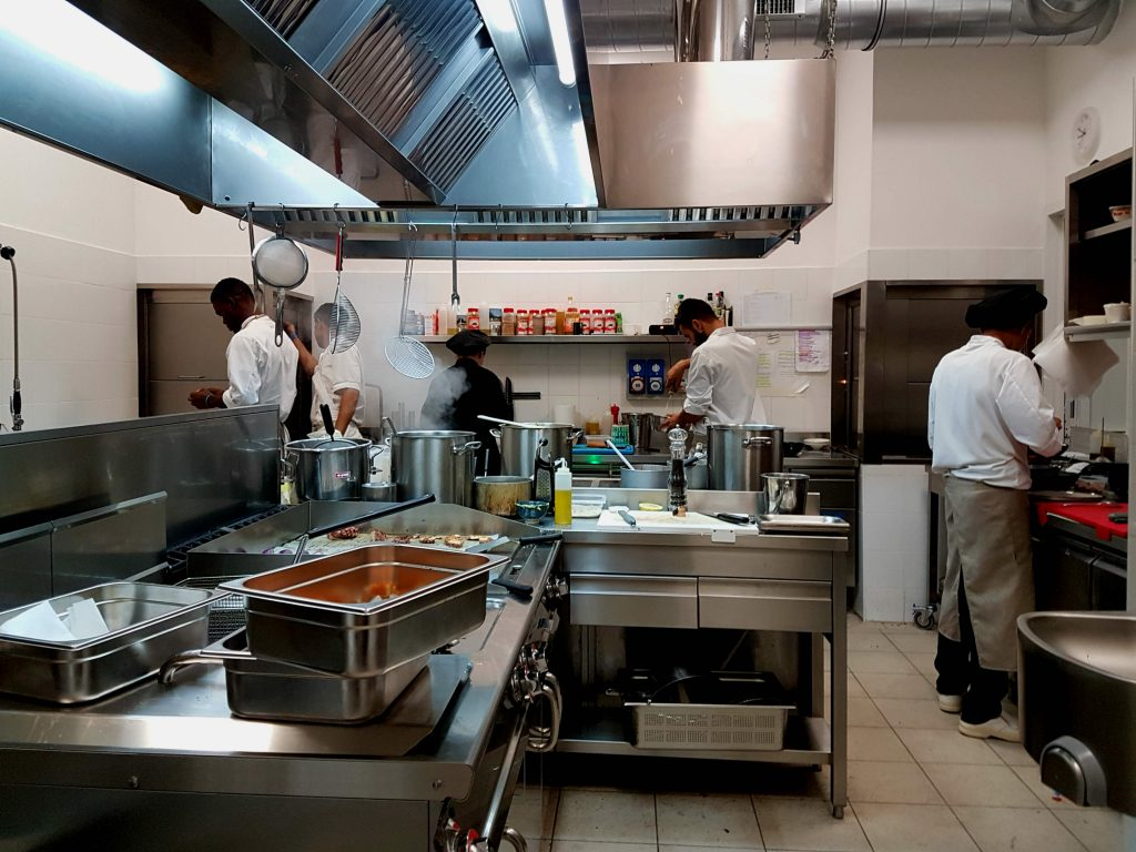 Altrove Restaurant, a social cooking project in Garbatella, Rome, retrains migrants, refugees and disadvantaged youngsters to give them a new start in life.
