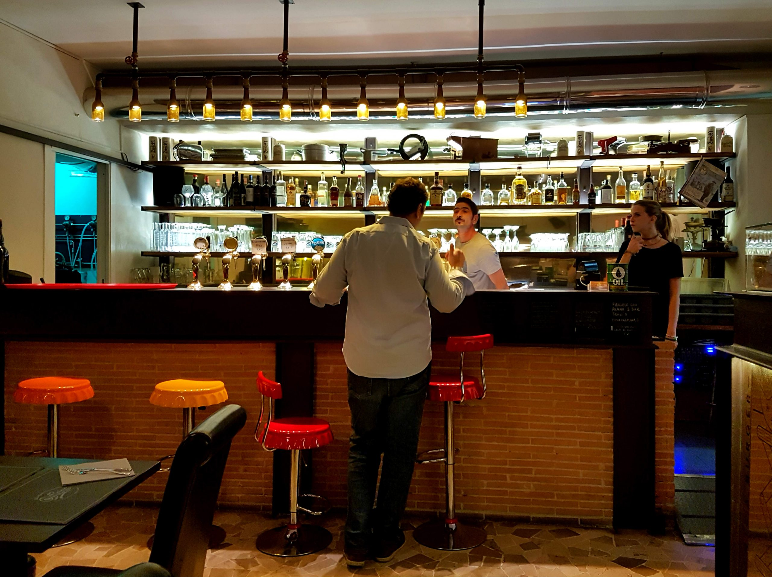 Officina - pizza and burger is a recently refurbished pizzeria and craft-beer bar in Rome which is laying claim to serving one of the best pizzas in Rome.