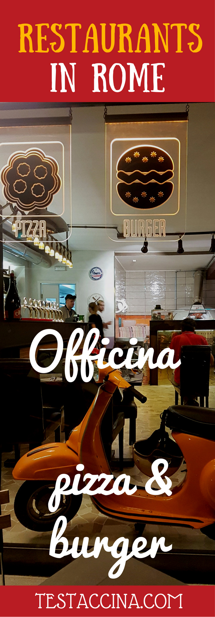 Officina - pizza and burger