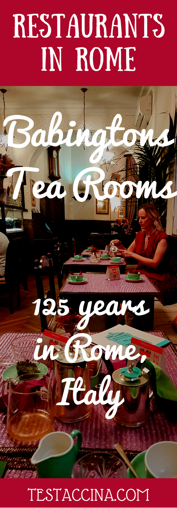 Babingtons Tea Rooms, at the foot of the Spanish Steps in Rome, is celebrating an astonishing 125 years in the Eternal City.