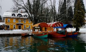 These 12 ideas for wonderful winter holidays in Slovenia include skiing, spas, historical trips, mountains, lake Bled, and restaurant recommendations.