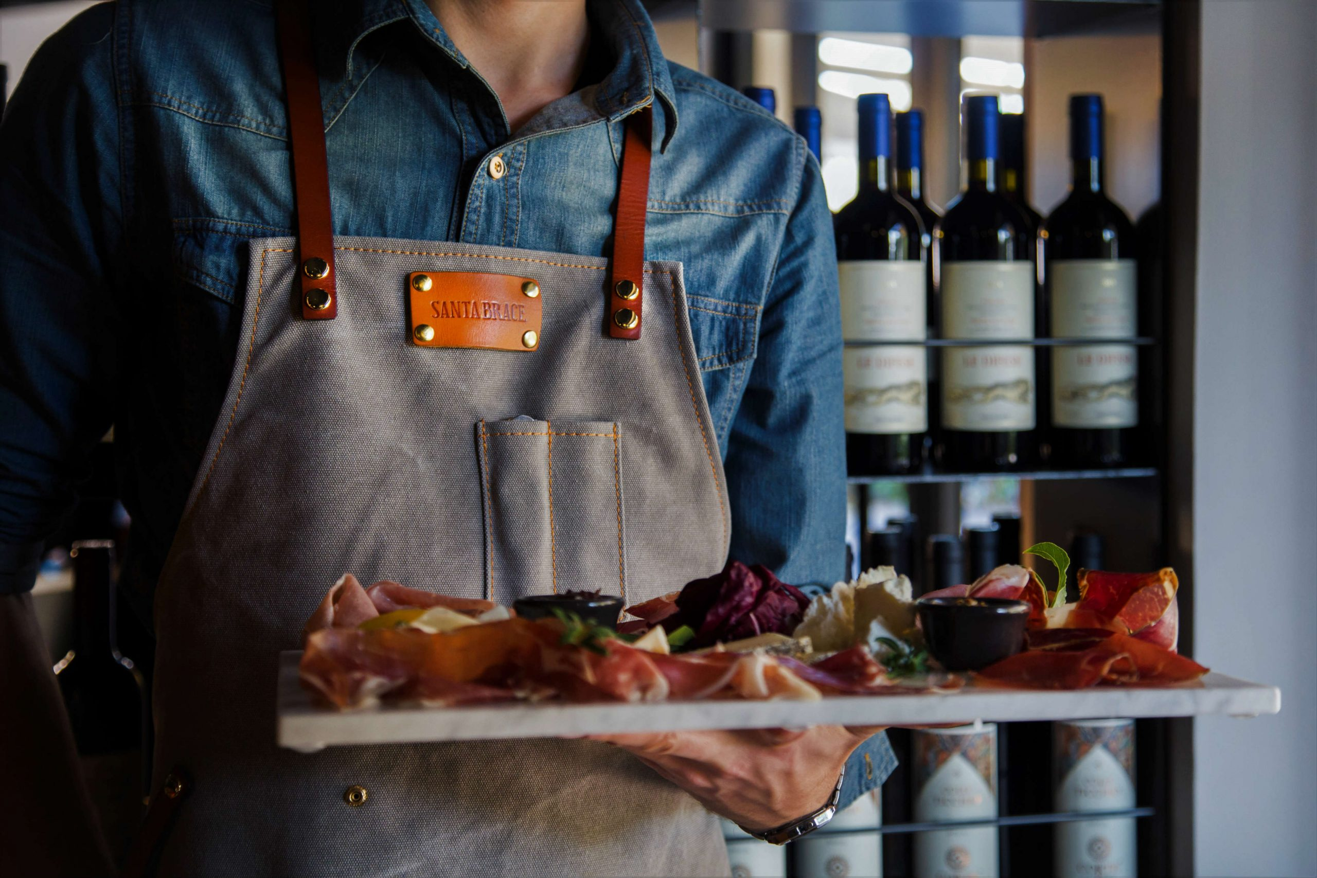 Santa Brace in Rome's Colli Portuensi district is aiming to be the best steakhouse in Rome. Expect barbeque, grill, tartare, charcuterie and burgers.