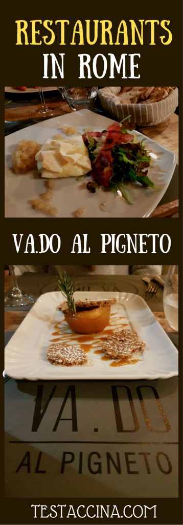 Va.Do al Pigneto is a great value restaurant in Rome's Pigneto district serving creative Italian cuisine. One of the best restaurants in Pigneto, Rome.