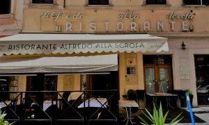 Searching for the original Fettuccine Alfredo in Rome? Don't miss dining at Ristorante Alfredo alla Scrofa, the original restaurant in Rome which created the real Fettuccine Alfredo or Alfredo sauce, and still serves the best Fettuccine Alfredo in Rome.