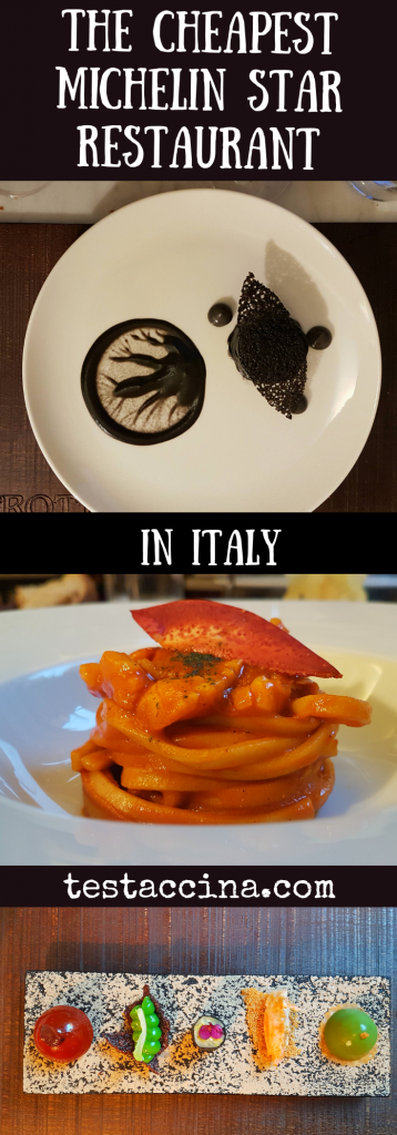Michelin star restaurants Rome: Is Bistrot64 the cheapest Michelin star restaurant in Italy? Review of menu and prices at Kotaro Noda's Rome restaurant