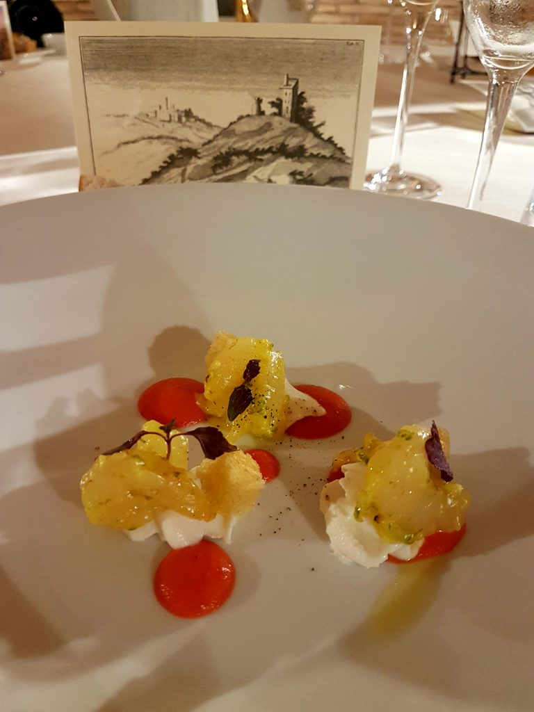 Monte due Torri is a farmhouse restaurant near Rome offering occasion and private dining with a focus on organic and locally sourced food.