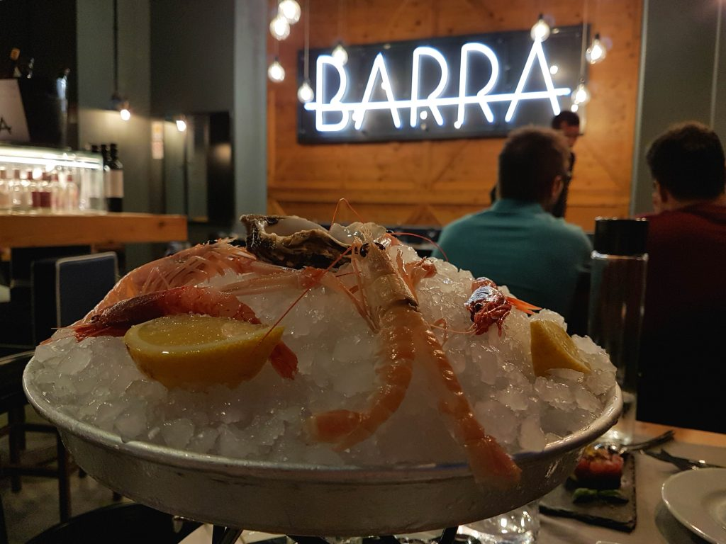 Barra Pescheria con Cucina is a new restaurant and high-end fishmonger in Rome serving great fish with flair.